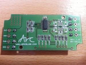 Arc Dimmer Prototype