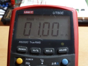 UT60E DC Current Measurement - 1mA